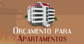 orcamento para apartamentos Orçamento
